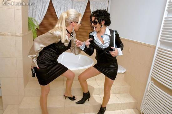 Orgymax/My-Fetish. - Rihanna Samuel and Vanessa - Bath Bunnies Show Off Their Wetlook (HD/720p/580 MB)