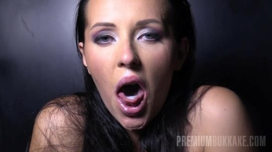 PremiumBukkake - Carolina Vogue - Gloryhole (FullHD/1080p/2.62 GB)