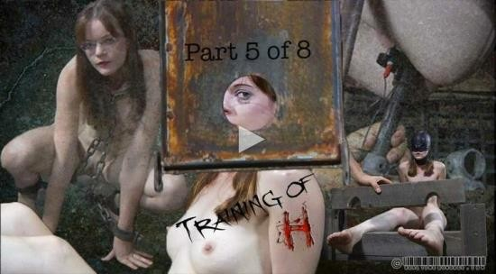 RealTimeBondage - Hazel Hypnotic - Training of H Part 5 (HD/720p/480 MB)