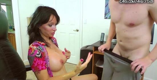 ANGIENOIRTABOOMILF - Angie Noir - Angie Noir in Let Your Stress Go Down My Throat (HD/720p/370 MB)