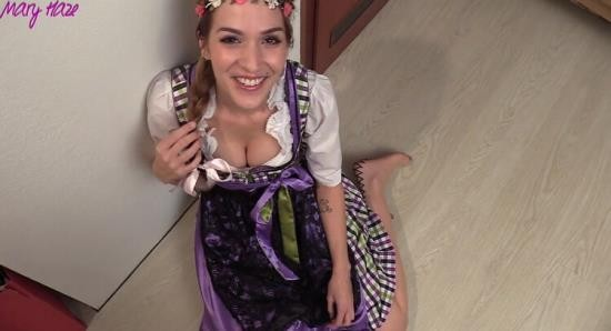 MyDirtyHobby - MaryHaze - Dirndl bitch swallow your sperm! (FullHD/1080p/87.7 MB)