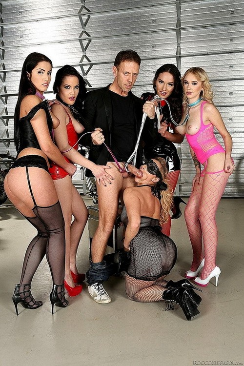 RoccoSiffredi - Arteya, Nataly Gold, Dolly Diore, Brittany Bardot, Lauren Minardi - Rocco Siffredi Hard Academy, scene 3 (HD/720p/1.76 GB)