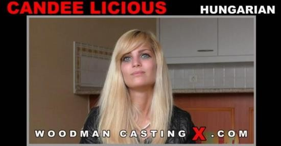 WoodmanCastingX - Candee Licious - Hard - My one and only DP with 3 men (HD/720p/643 MB)