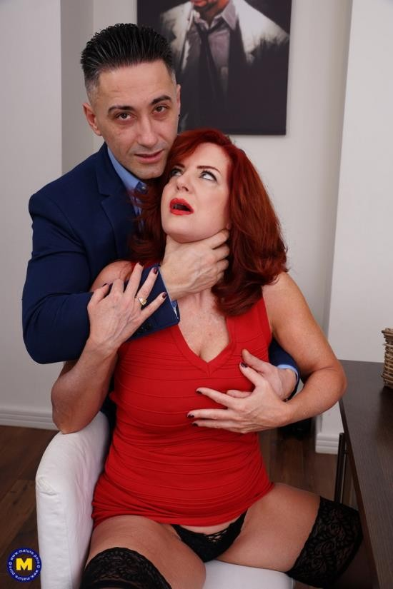 Mature.nl/Mature.eu - Andi James - Redhead MILF getting a crempie! (FullHD/1080p/1.44 GB)