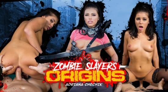 WankzVR - Adriana Chechik - Zombie Slayers: Origins (FullHD/1080p/4.36 GB)