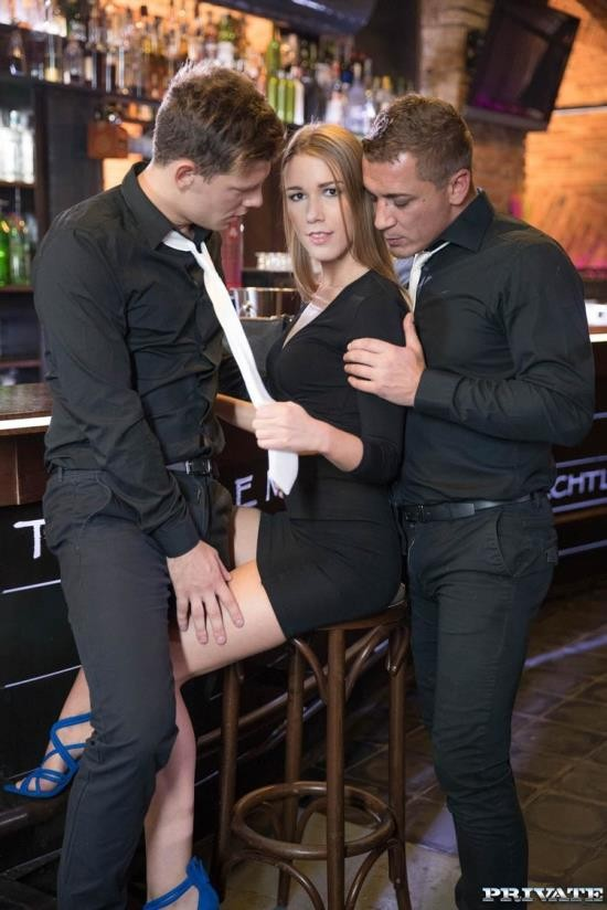 Private - Alexis Crystal - Alexis Crystal, Two Hung Waiters Have a DP Trio in a Bar (FullHD/1080p/755 MB)