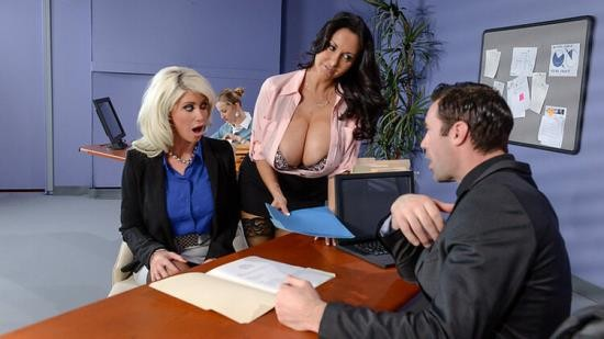 BigTitsAtWork/Brazzers - Ava Addams, Riley Jenner - The New Appli-cunt (FullHD/1080p/3.19 GB)