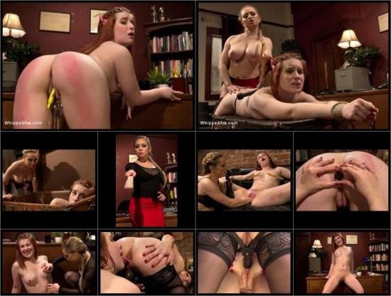 WhippedAss/Kink - Aiden Starr, Sadie Kennedy - 18 year old strap-on fucked in the ass by lezdom professor for the first time! (HD/720p/1.99 GB)