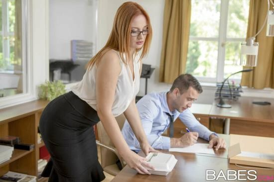 OfficeObsession/Babes - Eva Berger - Naked Lunch (FullHD/1080p/1.94 GB)