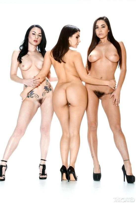 Throated/MyXXXPass - Veruca James, Karlee Grey, Valentina Nappi - Deepthroating Heaven (FullHD/1080p/1.06 GB)