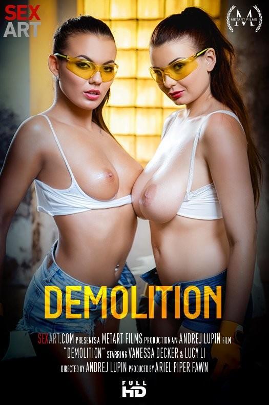 SexArt/MetArt - Lucy Li, Vanessa Decker - Demolition (FullHD/1080p/1.21 GB)