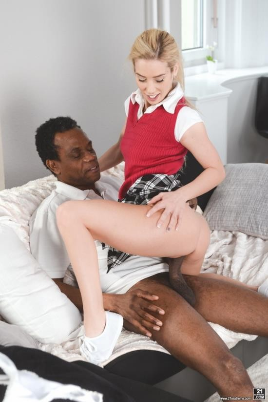 GrandpasFuckTeens/21Sextreme - Nesty - Interracial Study Session (FullHD/1080p/1.36 GB)