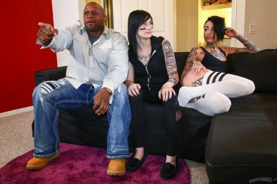 BurningAngel - Prince Yahshua, Nikki Hearts, Leigh Raven - Nikki Hearts And Leigh Raven Cheating With Black Cock (FullHD/1080p/1.28 GB)