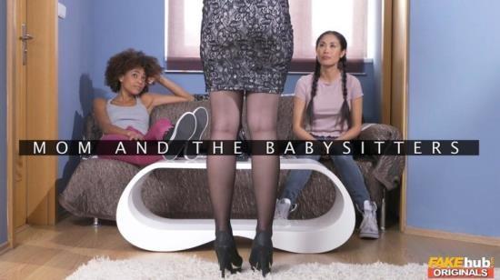 FakeHubOriginals/FakeHub - Angel Wicky, Davon Kim, Luna Corazon - Mom and the Babysitters (FullHD/1080p/1.21 GB)