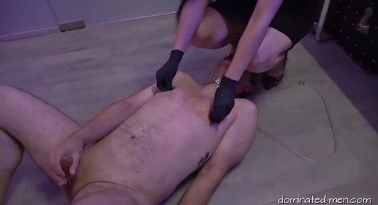 AMATOR/DOMINATED-MEN - MISS KASHA, LADY BLACK DIAMOND, MR. BEAN - DOUBLE DOMINATION (3 OF 3) (HD/720p/1012 MB)
