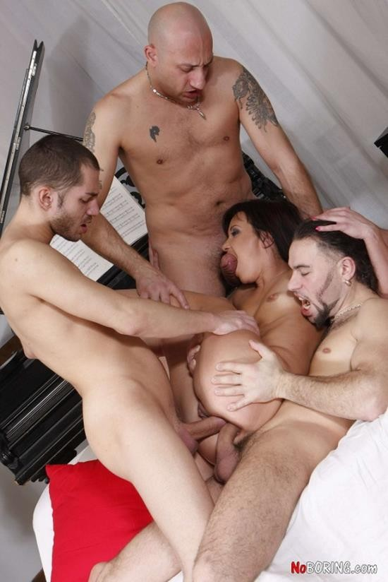 NoBoring - Janna C - Incredible Gangbang Action (FullHD/1080p/1.75 GB)