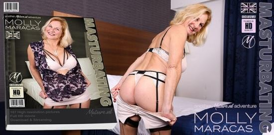 Mature.nl - Molly Maracas (EU) (55) - Masturbating Molly Maracas is getting wet (FullHD/1080p/1.83 GB)