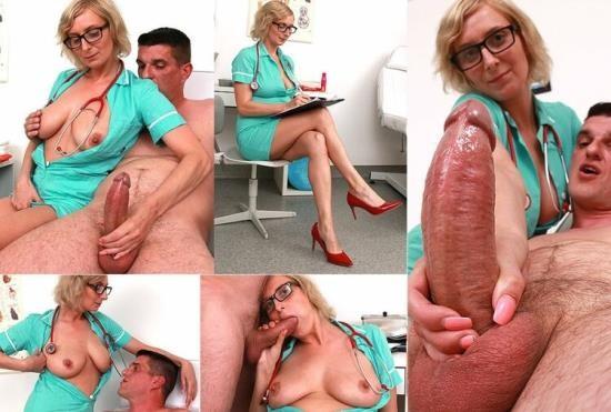 Spermhospital - Christa C - Busty Milf doctor Christa Blow Job and big naturals (HD/720p/1.17 GB)