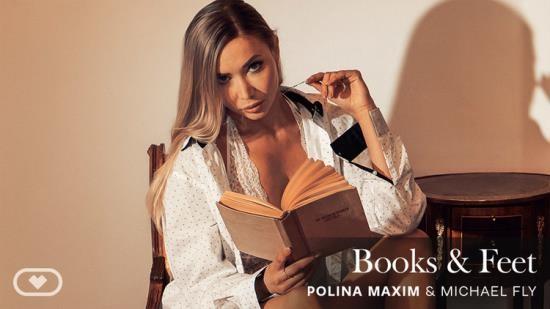 VirtualRealPorn - Polina Maxim - Books, Feet (UltraHD 4K/2160p/4.31 GB)