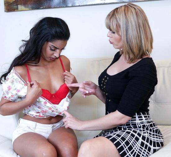 BadMilfs/TeamSkeet - Amber Chase, Claire Black - Cunty Competition (FullHD/1080p/4.71 GB)