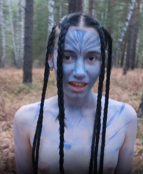 Pornhub - maryvincxxx - Cute Neytiri from Pandora Tastes my Cum avatar Cosplay (FullHD/1080p/700 MB)
