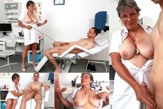 Spermhospital - Doris W - Chesty uniform granny Doris penis bondage cure (HD/720p/1.08 GB)