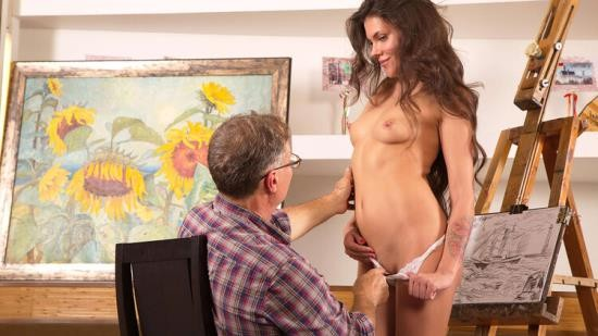 TrickyOldTeacher - Sintia aka Tori Hendrix - Tricky old art teacher fucks on of his most promising students (HD/720p/892 MB)