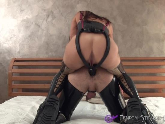 Femdom-Strapon-Fisting.com - Slave - Male Slave In Sling Gets Strapon Fucked By His Mistress (FullHD/1080p/471 MB)