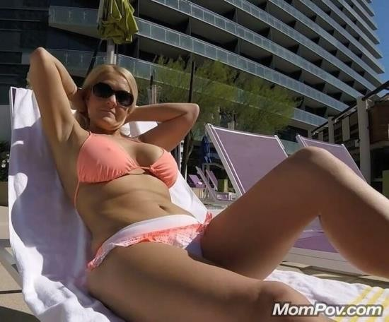 MomPov - Barbie - Poolside MILF comes up to hotel room - BONUS (HD/720p/1.19 GB)