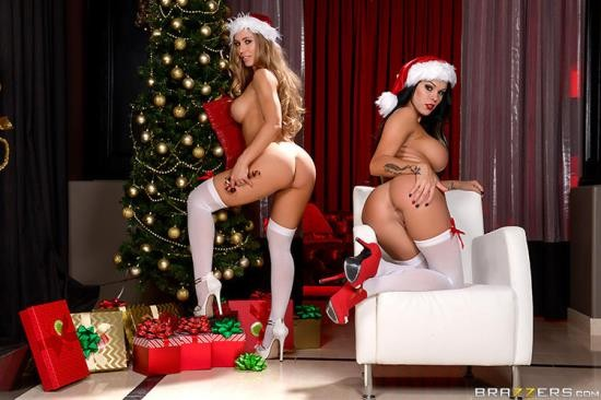 RealWifeStories/Brazzers - Nicole Aniston, Peta Jensen - Our Holiday Three Way (HD/720p/2.29 GB)