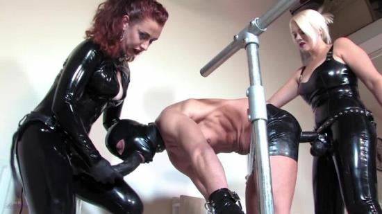MistressLadyRenee - Mistress Heather Divine, Lady Renee - Latex Spit Roast (HD/720p/644 MB)