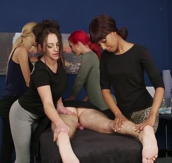 PureCFNM - Mandy Slim, Roxi Keogh, Sade Rose, Vickie Powell - 8 Hand Massage (FullHD/1080p/704 MB)