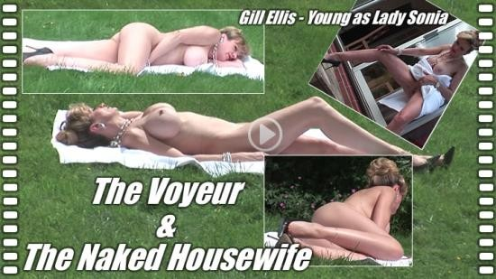 Lady-Sonia - Lady Sonia - The voyeur and the naked housewife (HD/720p/610 MB)