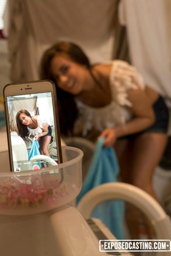 Exposedcasting/Porndoepremium - Nikki Waine - Flexible Ukrainian teen Nikki Waine gets cum covered in dirty hard casting (FullHD/1080p/2.36 GB)