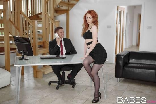OfficeObsession/Babes - Ella Hughes - Stress Relief (FullHD/1080p/1.38 GB)