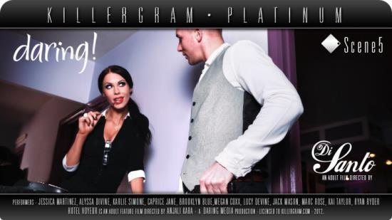 Daring/ Killergram - Megan Coxxx - Hotel Voyeur (Scene 5) (HD/720p/700 MB)