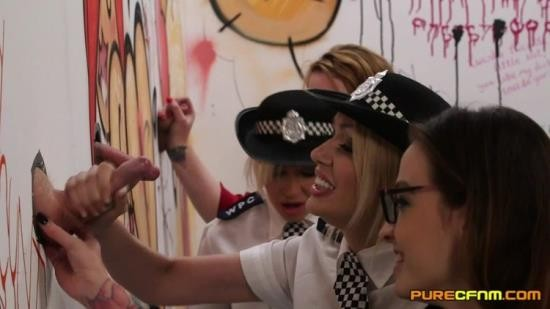 PureCfnm - Amber Jayne, Amber West, Kylie Nymphette, Michelle Thorne - Cadets Initiation (FullHD/1080p/891 MB)