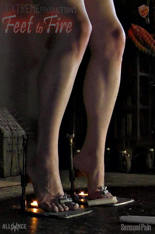 SENSUALPAIN - SLAVE LUCY - TRAINERS TO FIREPLACE (FullHD/1080p/583 MB)