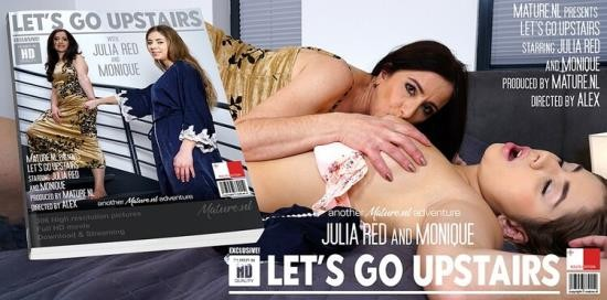 Mature.nl - Julia Red (26), Monique (EU) (49) - Hot babe taken upstairs by a mature lesbian for some serious playtime (FullHD/1080p/1.35 GB)