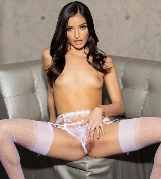 JulesJordan - Emily Willis - 19 Year Old Teen Loves White Thigh Highs, Big Black Cock (FullHD/1080p/1.99 GB)
