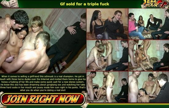 Sellyourgf - Unknown - Sold for a triple fuck (HD/720p/508 MB)