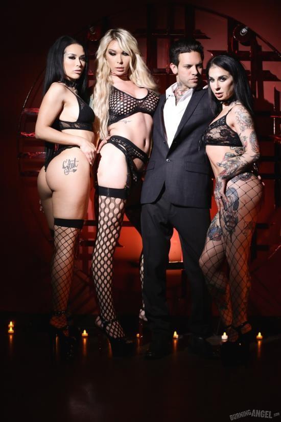 BurningAngel - Aubrey Kate, Joanna Angel, Katrina Jade, Small Hands - Sex Cult Act III (FullHD/1080p/1.37 GB)