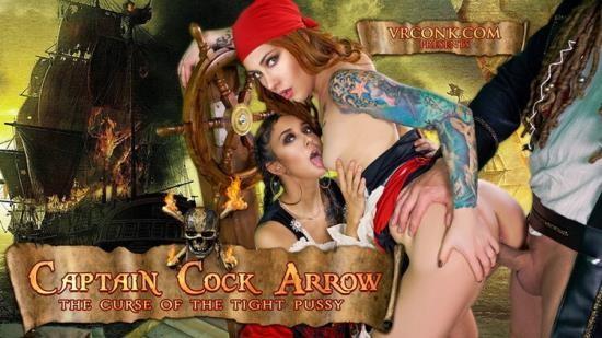 vrconk - Foxy Sanie, Darce Lee - Captain Cock Arrow (UltraHD/2K/1440p/3.60 GB)