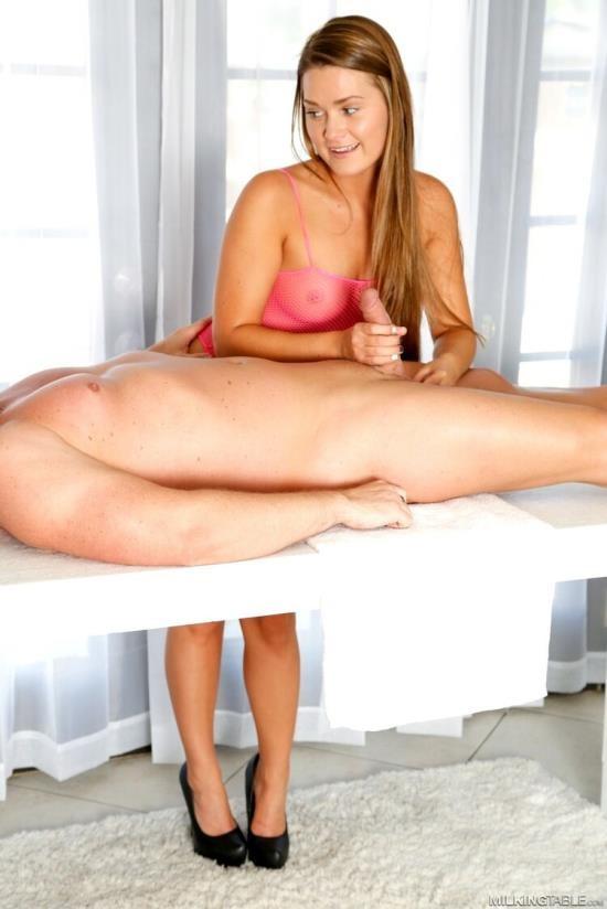 MilkingTable - Nikki Abby - Handjob (HD/720p/613 MB)