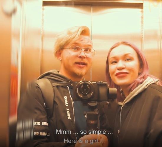 Pornhub - murstar - Vlog 1 Blowjob on the Common Balcony (FullHD/1080p/172 MB)