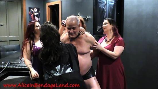 AliceInBondageland - Alice In Bondageland - Spanking Shaving And Spitting (FullHD/1080p/1.59 GB)