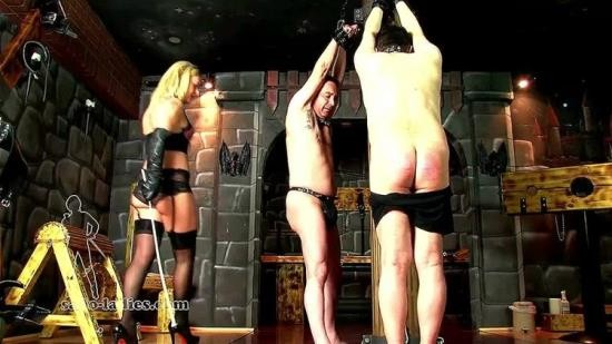 SadoLadiesFemdomClips - Mistress Athena - These Gloves Mean Punishment (HD/720p/215 MB)