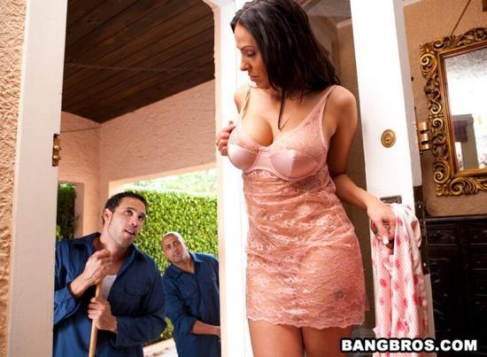 MilfSoup/BangBros - Veronica Rayne - Trimming Her Bush ! (HD/720p/441 MB)