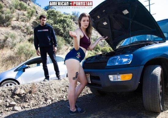 American-Pornstar - Ella Nova - Roadside RimJob (FullHD/1080p/1.82 GB)