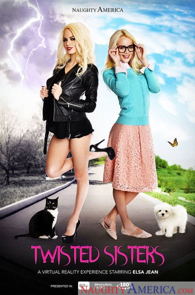 naughtyamericavr/naughtyamerica - Elsa Jean - Twisted Sisters (FullHD/1080p/1.69 GB)